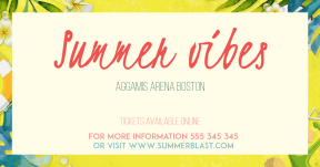 Summer vibes #invitation #event #summer #vibes #festival