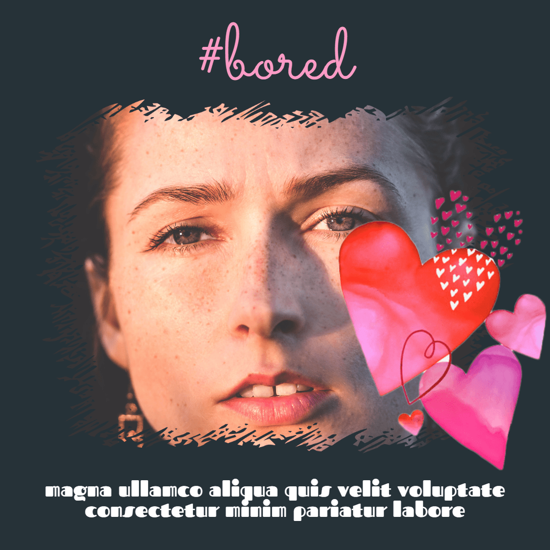 Profile #image #avatar #love Design  Template