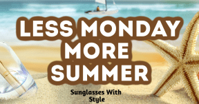 Less Monday More Summer #summer #ocean #beach #fun #vacation #vibes #waves #sea