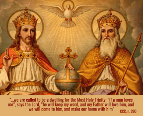 called to be a dwelling for the Most Holy Trinity