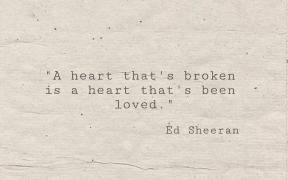 #music #heart #broken #heartbroken #lyrics #song #Ed #Sheeran #EdSheeran #love #quote