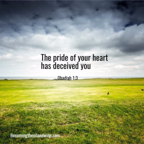 pride of heart