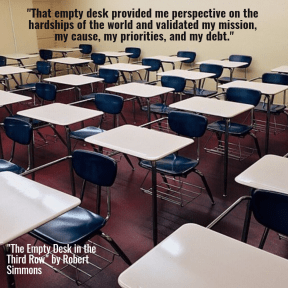 Elizabeth Littleton  - The Empty Desk