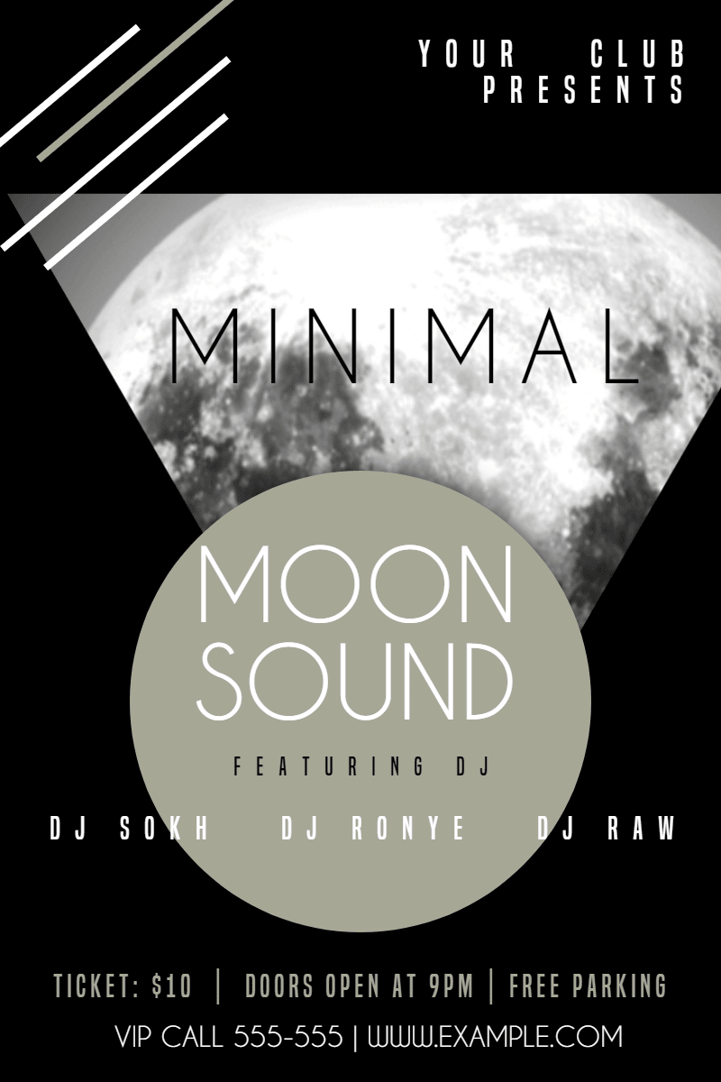 Text, Font, Poster, Advertising, Album, Cover, Invitation, Minimal, Moon, Club, Fun, White, Black,  Free Image