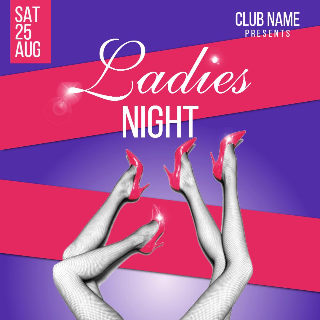 Ladies night #invitation #promotion Design  Template