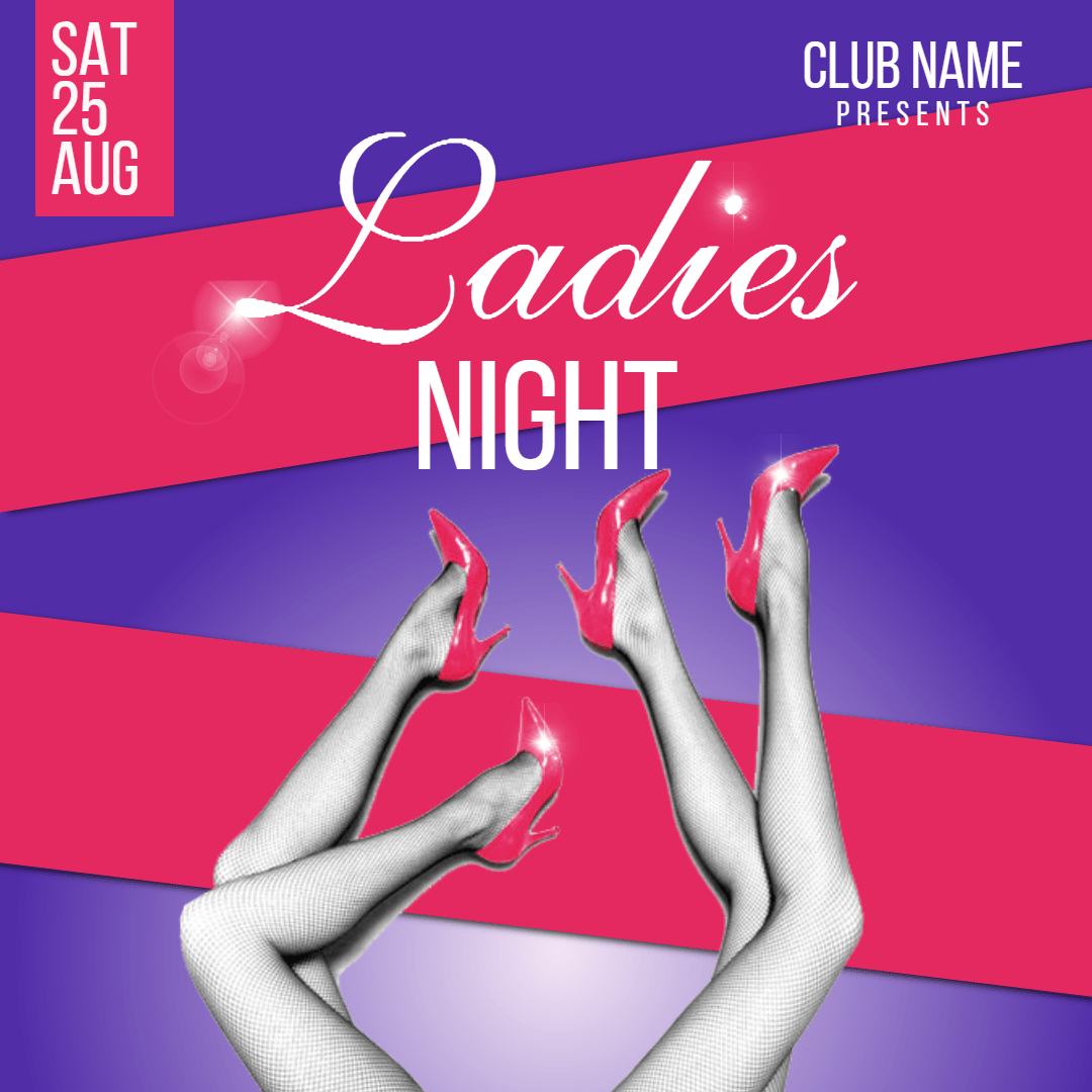 Text, Font, Advertising, Brand, Sense, Invitation, Promotion, Club, Fun, Dance, Ladies, Girlsnight, White,  Free Image