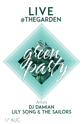 Green party #invitation #poster #party #fun #green #eco