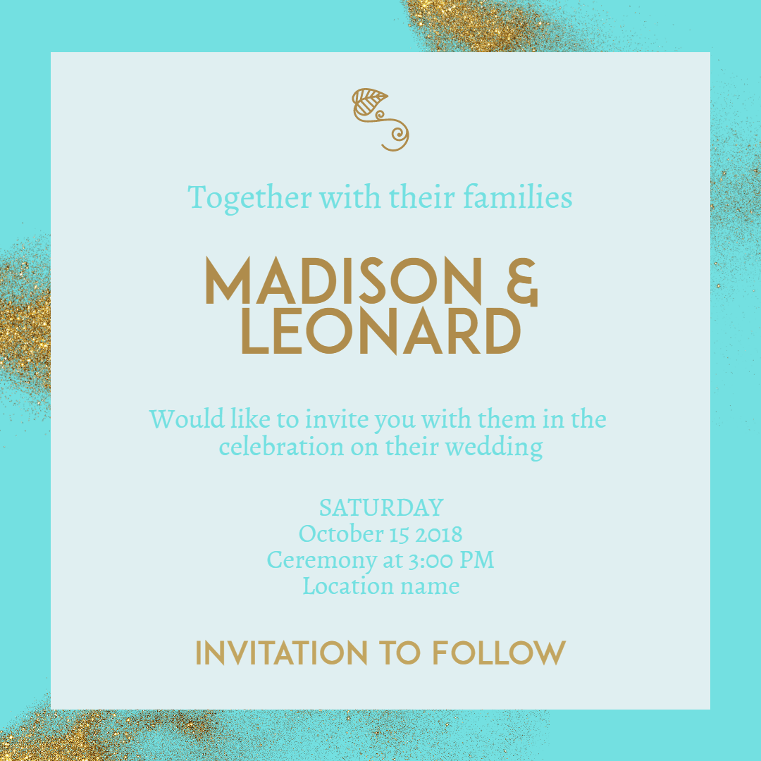 Blue,                Text,                Font,                Brand,                Invitation,                Wedding,                Love,                Ceremony,                Marriage,                White,                Aqua,                 Free Image