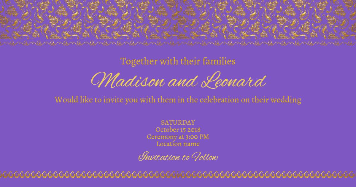 Text,                Blue,                Font,                Purple,                Violet,                Invitation,                Wedding,                Love,                Ceremony,                Marriage,                Fuchsia,                 Free Image