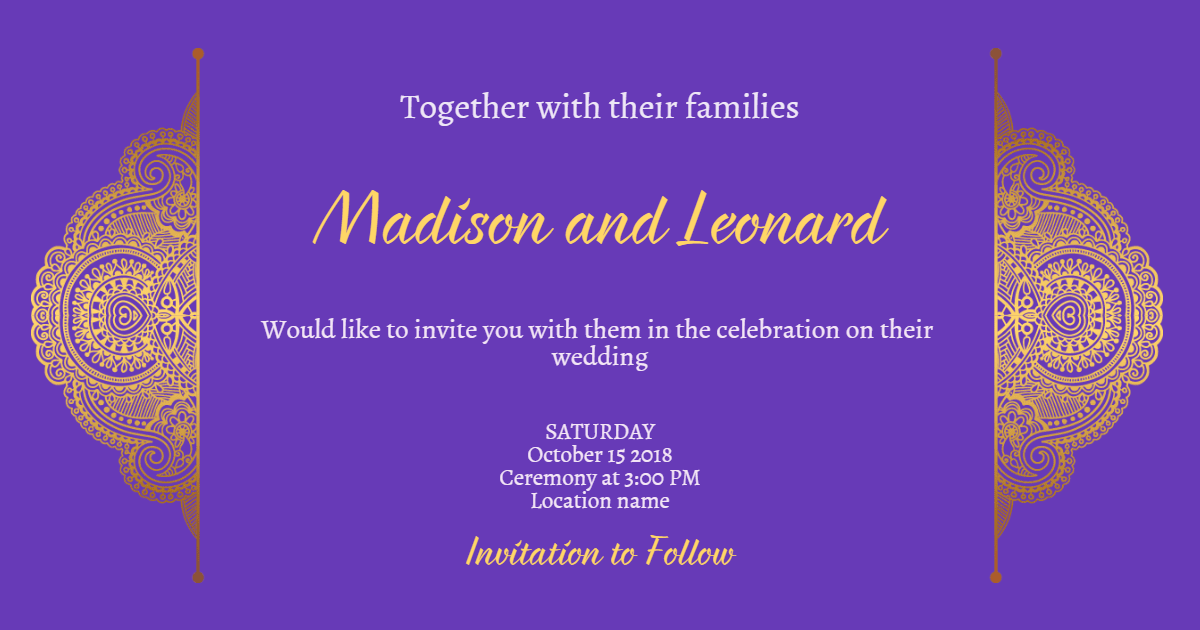 Purple,                Text,                Violet,                Font,                Organism,                Invitation,                Wedding,                Love,                Ceremony,                Marriage,                Blue,                 Free Image