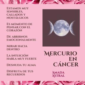 MERCURIO EN CÁNCER