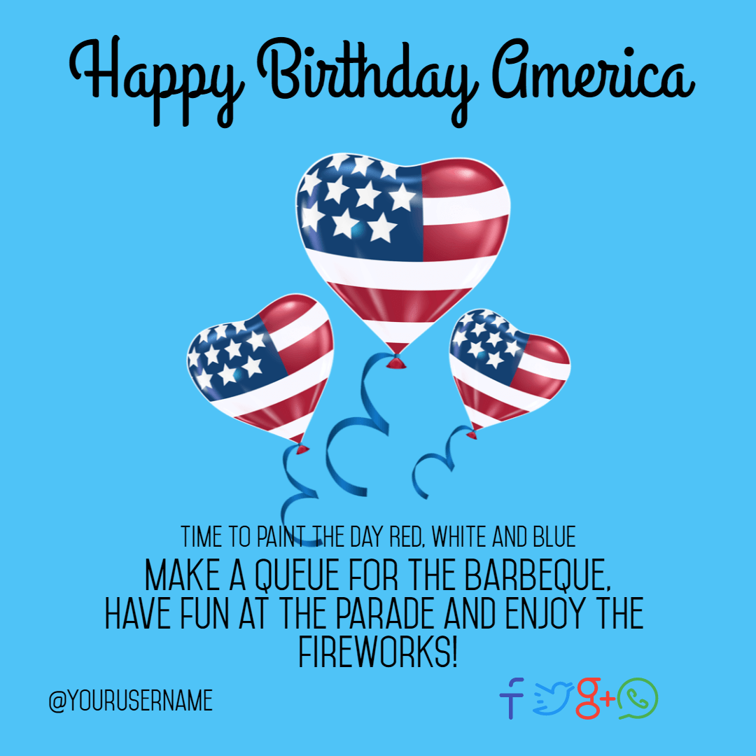 Text, Balloon, Heart, Font, Product, 4thofjuly, Happyforthofjuly, Independenceday, Independence, Day, America, Anniversary, Aqua,  Free Image