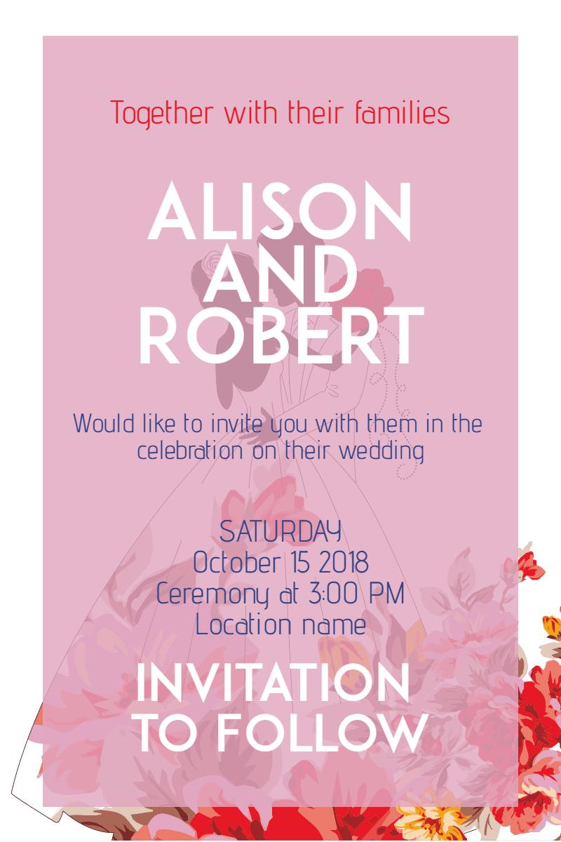 wedding invitation invitation image customize download it for