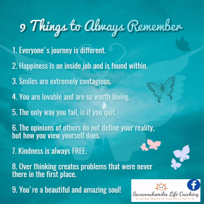 10 Things to Always Remember