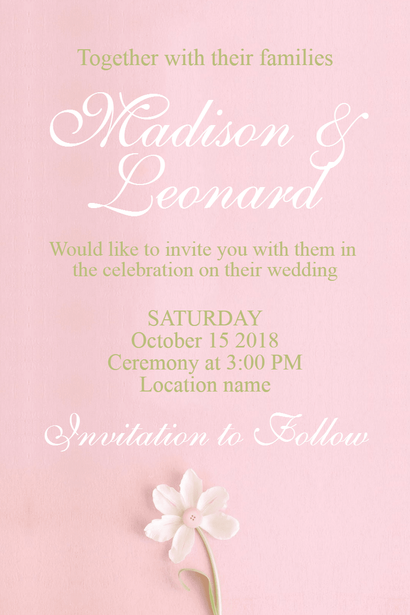 Pink,                Text,                Flower,                Lilac,                Petal,                Invitation,                Wedding,                Love,                Ceremony,                Marriage,                White,                 Free Image