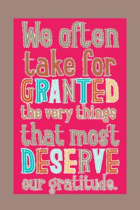 We often take