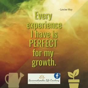 Louise Hay affirmation...