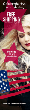 Avon Free Shipping Offer 4th of July