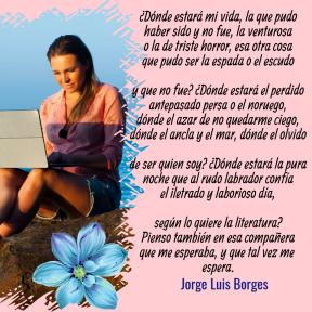 Profile #image #avatar #love #poemas #jorgeluisborges