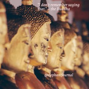 fake buddha