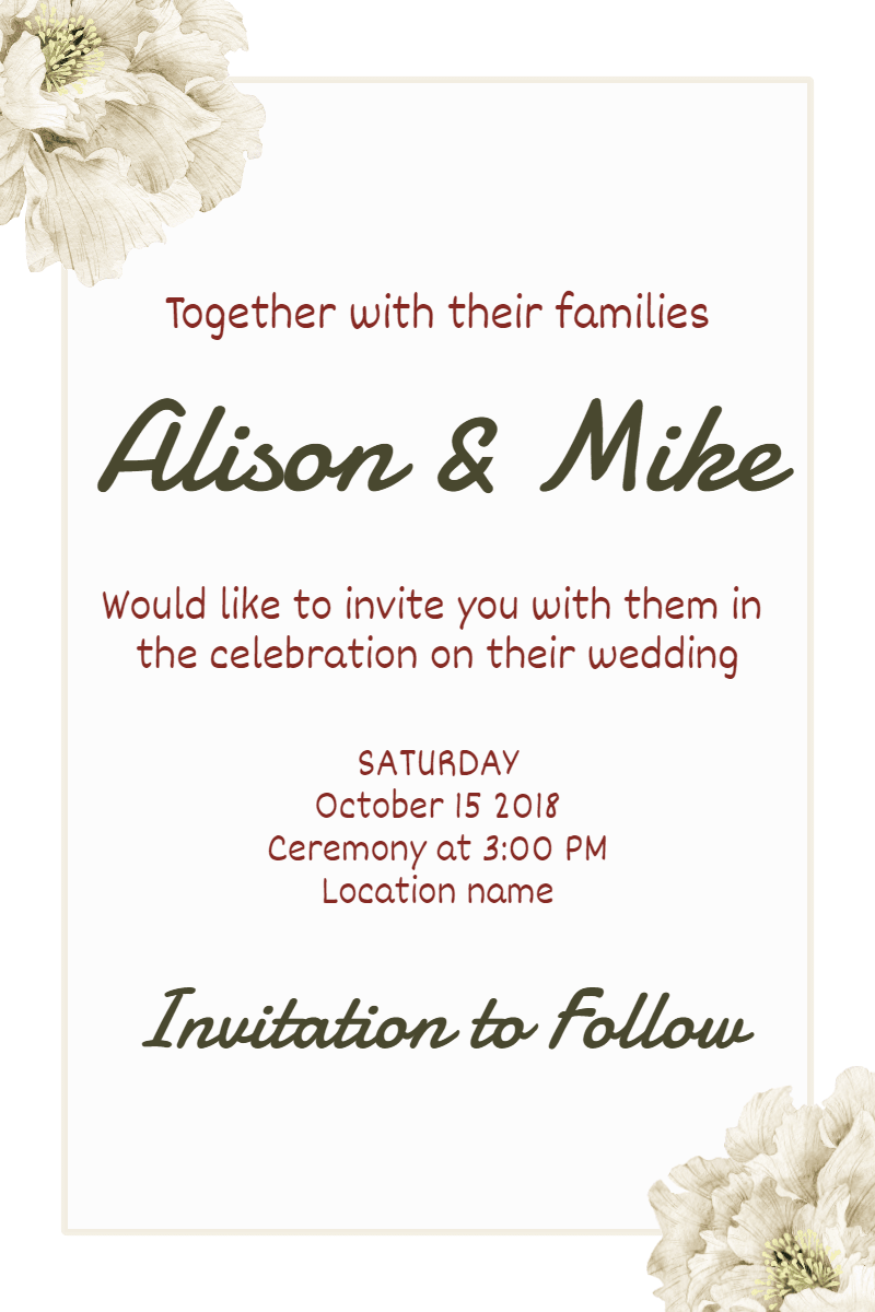 Flower,                Text,                Cut,                Flowers,                Font,                Arranging,                Invitation,                Wedding,                Love,                Ceremony,                Marriage,                White,                 Free Image