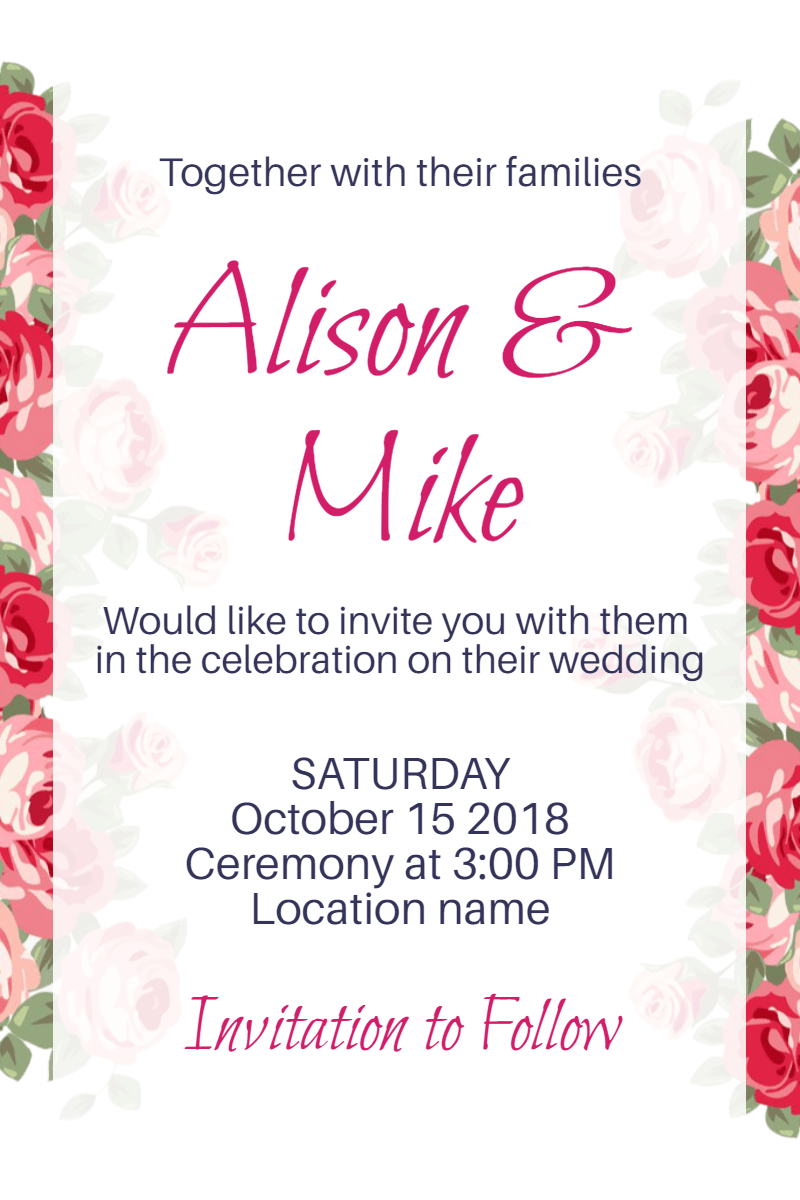 Flower,                Pink,                Text,                Cut,                Flowers,                Flowering,                Plant,                Invitation,                Wedding,                Love,                Ceremony,                Marriage,                White,                 Free Image