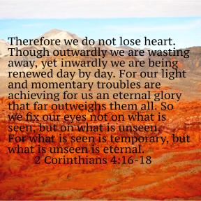 2 Corinthians 4 Scripture Sunday