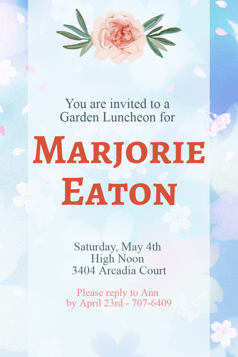 Text,                Font,                Flower,                Petal,                Sky,                Invitation,                Party,                Ceremony,                Garden,                White,                 Free Image