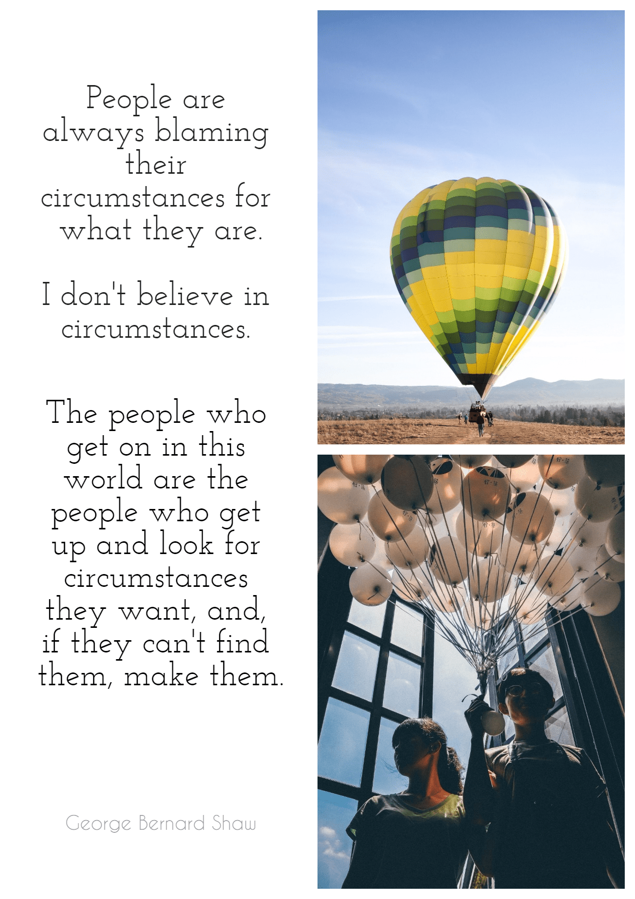 Hot,                Air,                Balloon,                Ballooning,                Poster,                Text,                Quote,                Simple,                White,                Black,                 Free Image