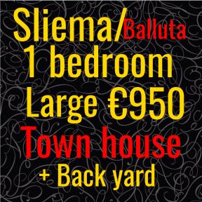 sliema 1bed townhouse baluta