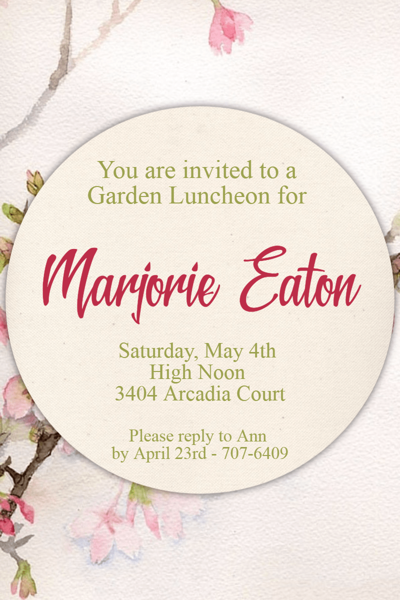 Text,                Petal,                Font,                Invitation,                Party,                Ceremony,                Garden,                White,                 Free Image