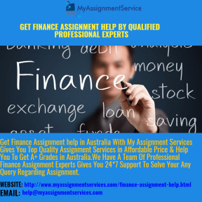 Finance Assignment Help By Qualified Professional Experts
