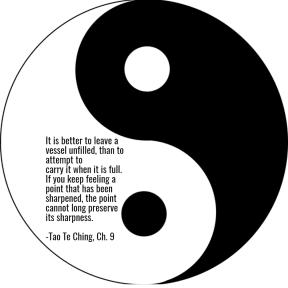 Tao Te Ching, Ch. 9
