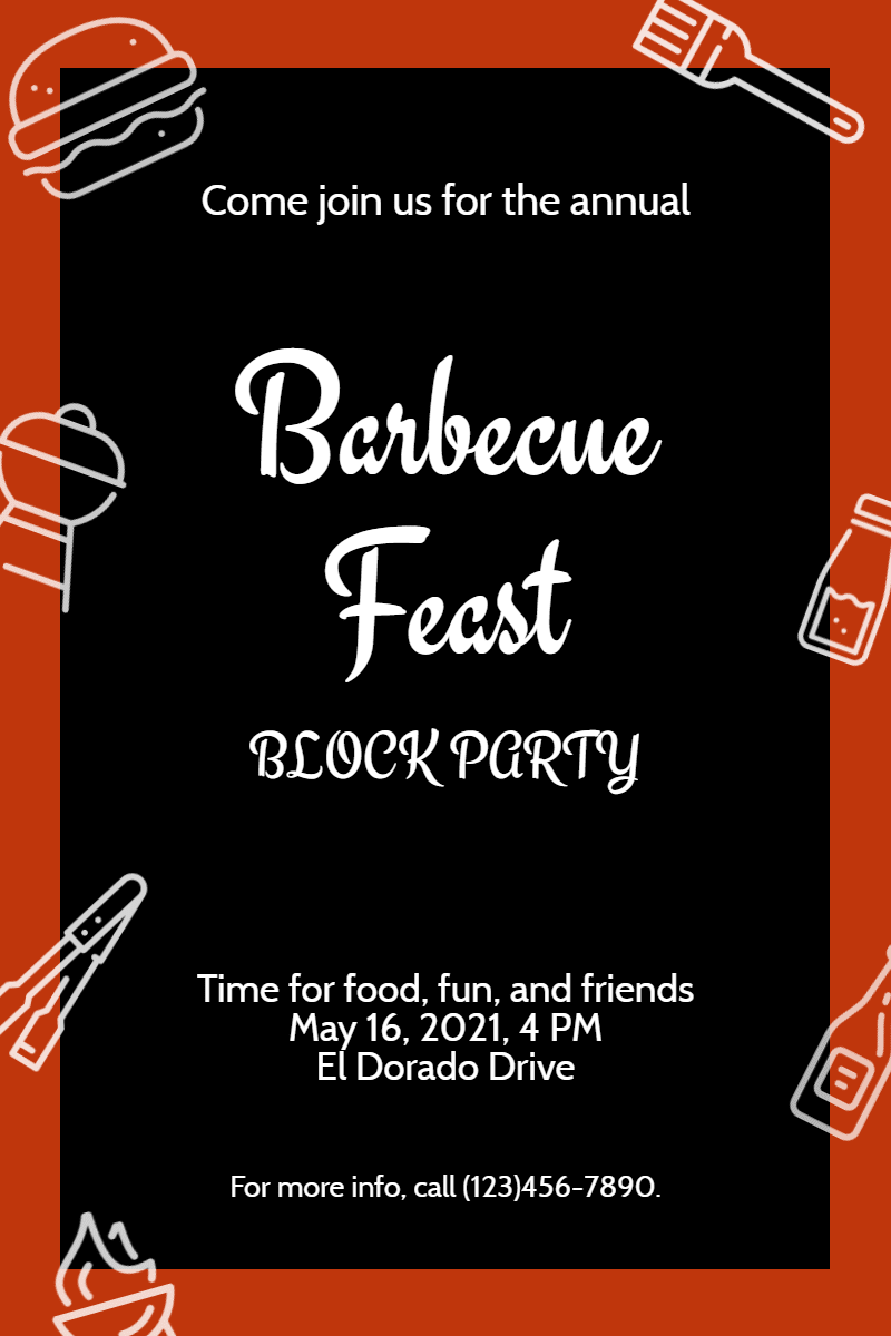 Text,                Font,                Line,                Advertising,                Area,                Invitation,                Grill,                Barbecue,                Food,                Bbq,                Party,                Black,                Red,                 Free Image