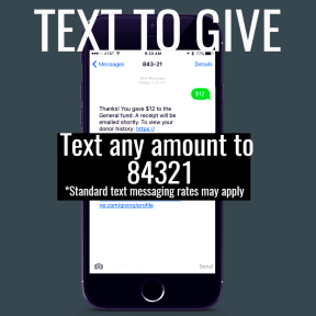 Text to Give 2