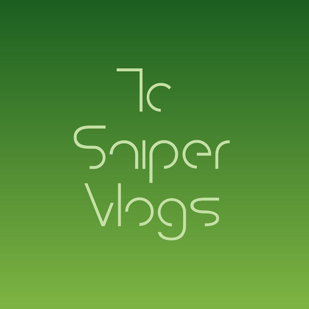 tc sniper art #logo Design  Template