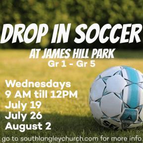 Drop In Soccer