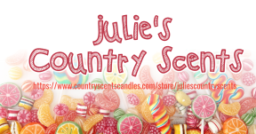 #JuliesCountryScents #candles