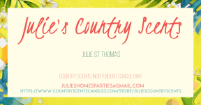 Business Card #CountryScents