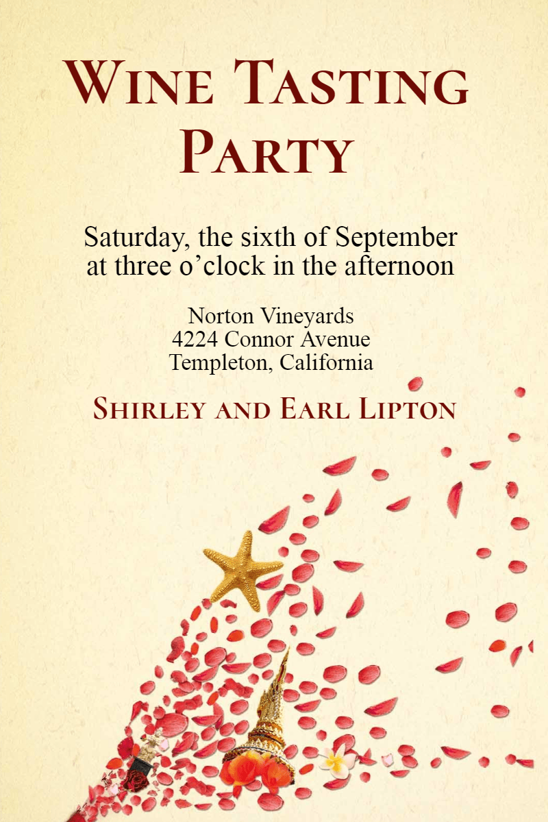 Text, Font, Petal, Invitation, Party, Wine, Tasting, Winetasting, White,  Free Image