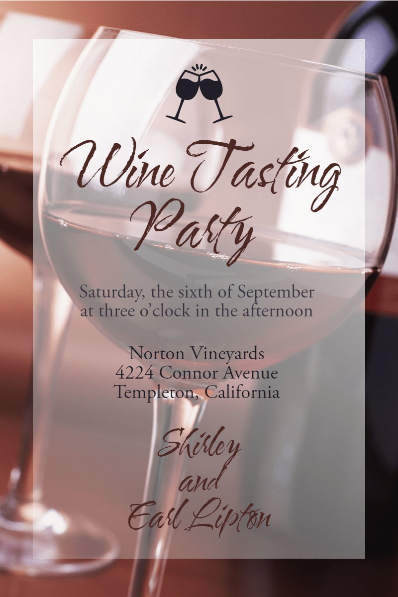 Font, Stemware, Drink, Glass, Wine, Invitation, Party, Tasting, Winetasting, White, Black, Red,  Free Image