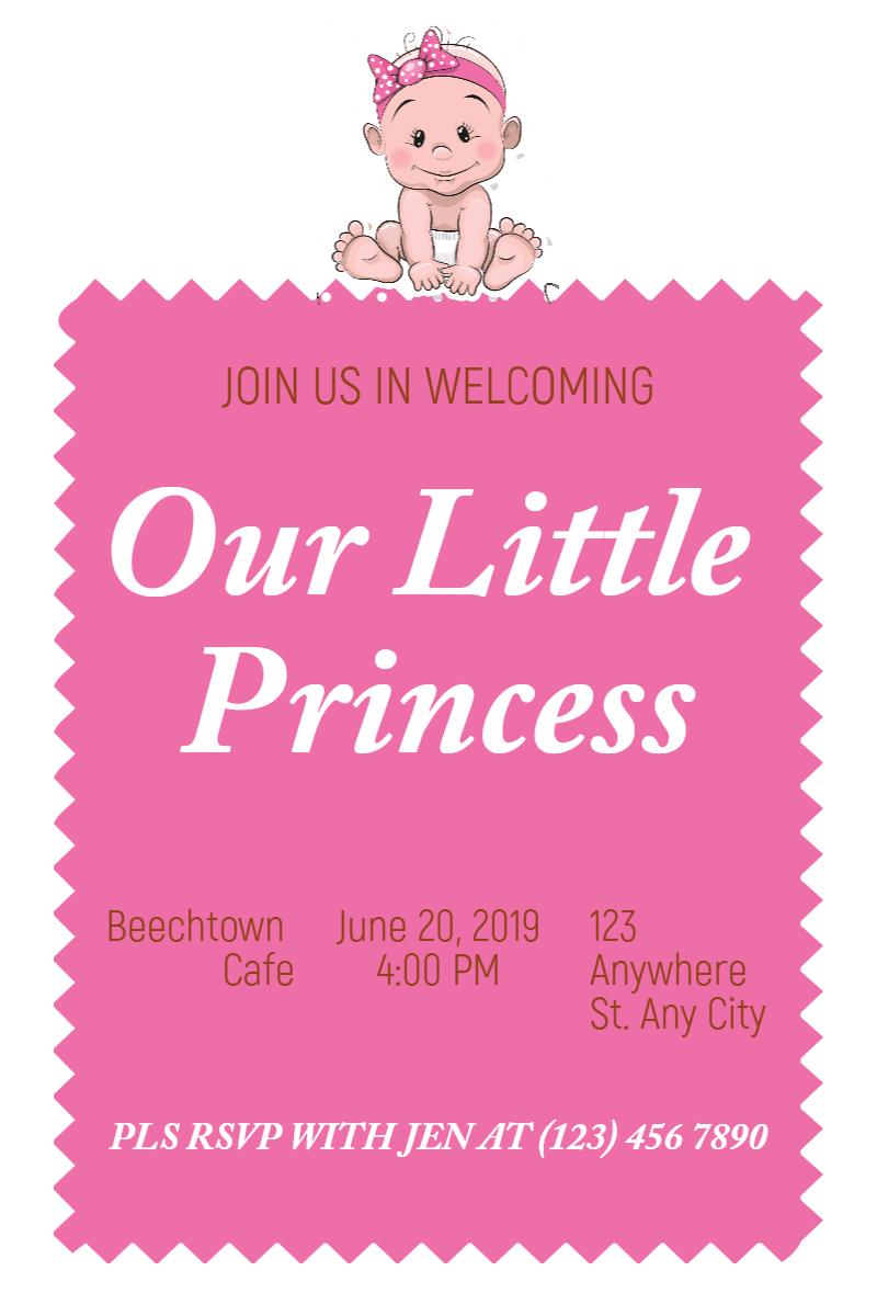 Pink,                Text,                Font,                Area,                Line,                Baby,                Invitation,                Babyshower,                Littlegirl,                Girl,                White,                Fuchsia,                 Free Image