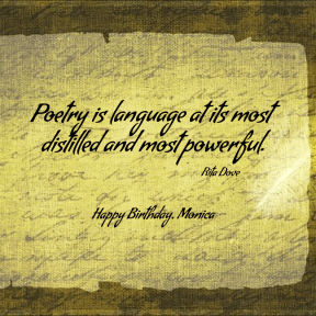 Happy B-day Monica