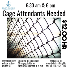 cage attendant