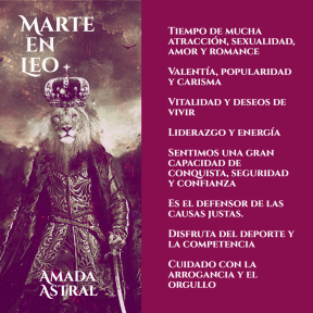 MARTE EN LEO