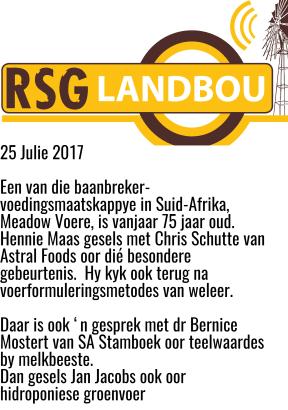 RSG Landbou
