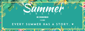 Summer sounds #invitation #summer #vibes #business #vacation #fresh #poster #party