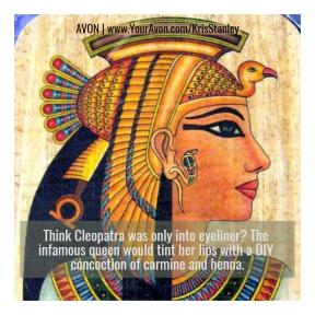 Lipstick Trivia - Cleopatra