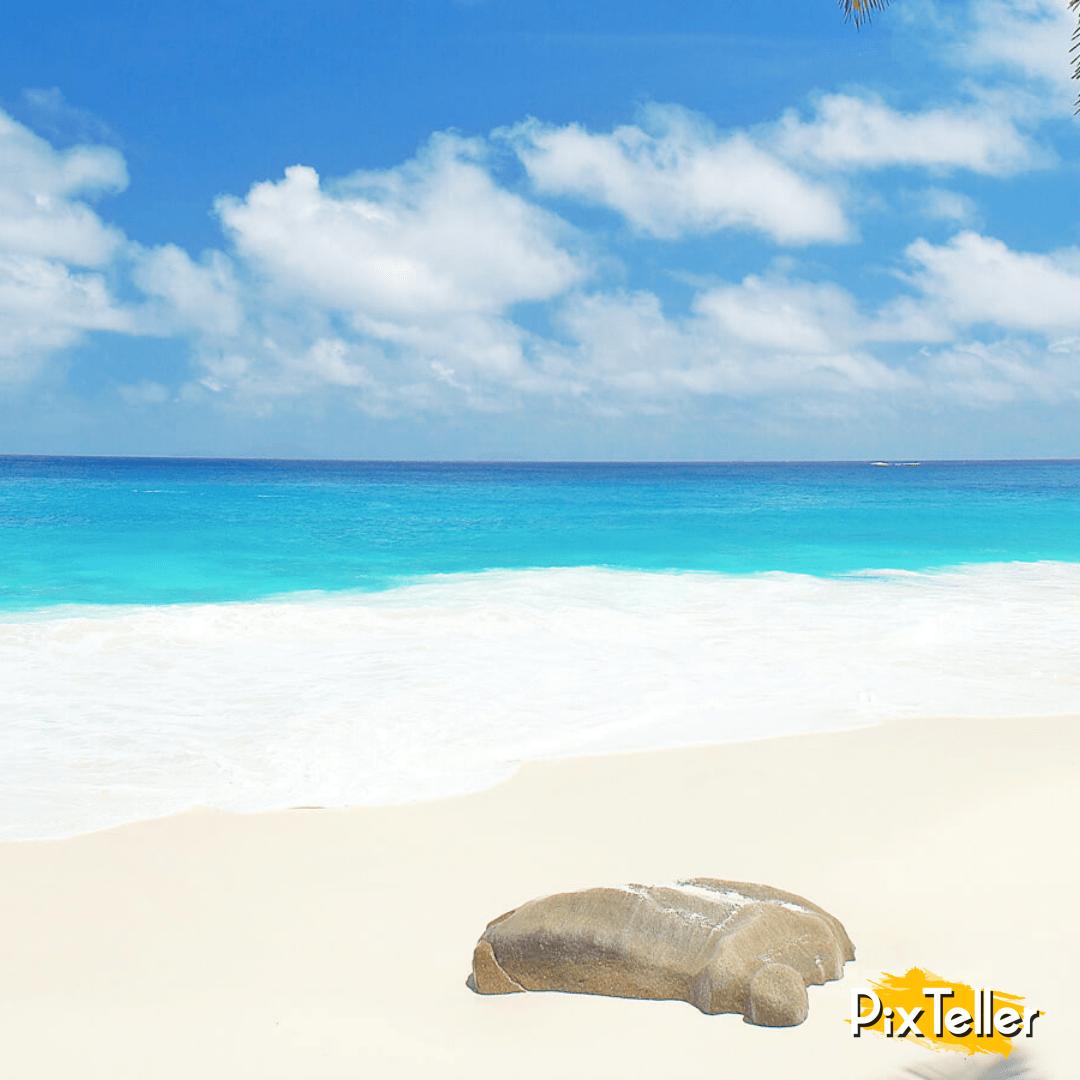 Sea,                Coastal,                And,                Oceanic,                Landforms,                Shore,                Sky,                Caribbean,                Beach,                Ocean,                Vacation,                Coast,                Horizon,                 Free Image