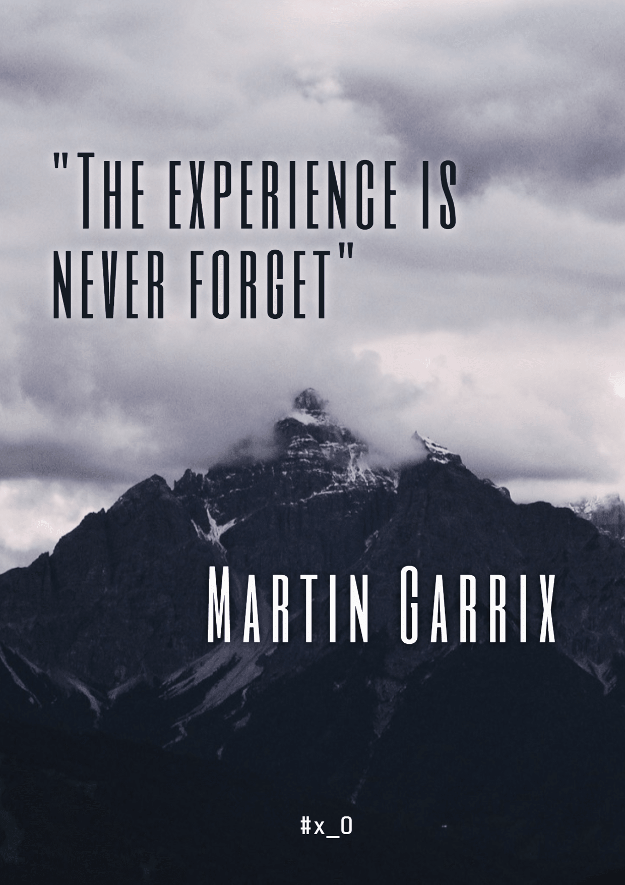 Sky,                Cloud,                Text,                Font,                Atmosphere,                Mountain,                Geological,                Phenomenon,                Range,                Black,                And,                White,                Quote,                 Free Image
